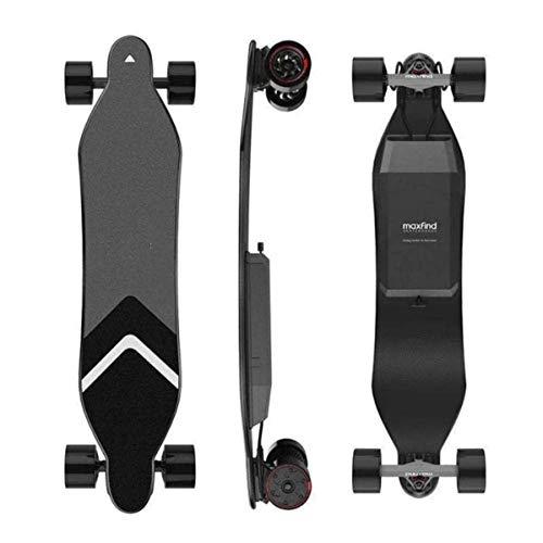 HFJ&YIE&H Elektro-Skateboard, Longboard Skateboard Long Range Dual-Bewegungsfern Bluetooth mit Fernbedienung Wireless Elektro-Scooter für Teenager und Erwachsene