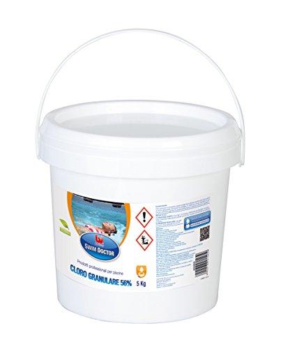 Bestway 704458 Swim Doctor Granulés de chlore pour piscine KG 5