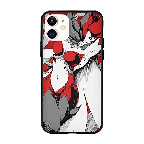 Compatibile con iPhone 12/12 11 Pro Max mini X/XS Max XR 8 7 6 6s Plus SE Caso Samsung S21 Ultra Black Custodie per cellulari Cover Rosemon Digimon