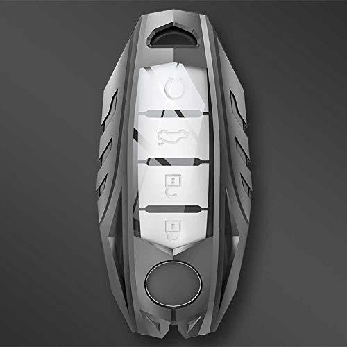 NIUASH Carcasa de la Cubierta de la Caja de la Llave del Coche, para Nissan Qashqai X-Trail T32 T31 Juke J10 J11 Tiida Pathfinder para Infiniti