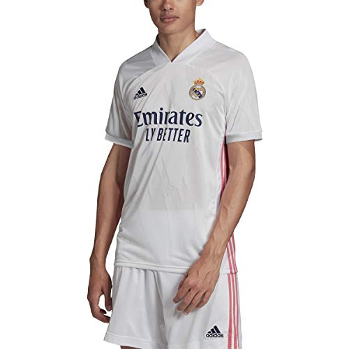 Adidas Mens Real Madrid Home Soccer Jersey White M