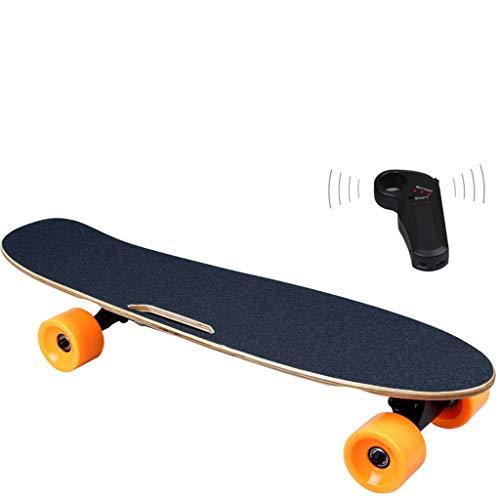 Ownlife Monopatín eléctrico electrónico con Control Remoto inalámbrico Longboard Skateboard Deck Control...