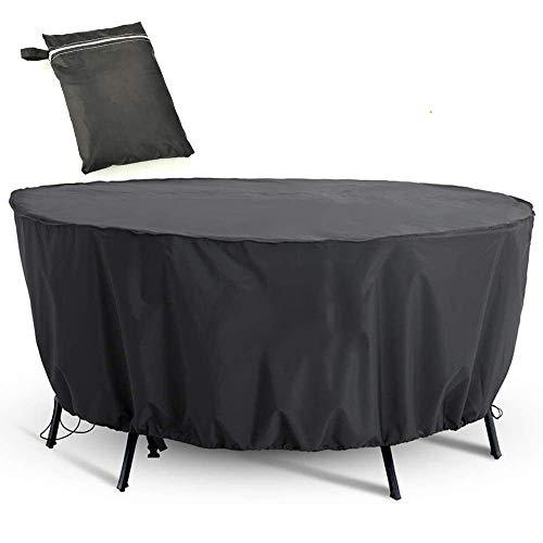 Cubierta de Muebles de Jardín Funda Protectora para Muebles Impermeable Anti-UV Oxford Protección Exterior Muebles de Jardín Sofá, Mesa, Silla (128 x 71 cm)