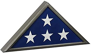 product image for Made in USA Burial Flag Case for 5'x9.5' Flag - Gun Metal Finish