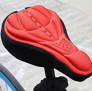 Rag & Sak® Bicycle Saddle 3D Bike Seat Cover Cycling Silicone Seat Mountain Bike Cushion Cycling Saddle for Bicycle Bike A...