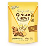Prince of Peace Original Ginger Chews, 4 oz. – Candied Ginger – Candy Pack – Ginger Chews Candy – Natural Candy – Ginger Candy for Nausea - 2 Pack from Prince of Peace
