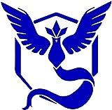 MAF - Pokémon Go Mystic Team Blue Vinyl Decal Blue 8 Inch - Sticker for Laptop, Car, Truck, Wall Art