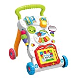 Iwinna Baby Kids Walkers Toy Cartoon Walker Stroller Multifunzione Baby Toddler Musical Toy
