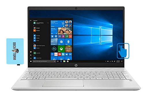 HP Pavilion - 15-cs3153cl Home and Business Laptop (Intel i5-1035G1 4-Core, 16GB RAM, 2TB PCIe SSD, Intel UHD Graphics, 15.6' Touch Full HD (1920x1080), WiFi, Bluetooth, Webcam, Win 10 Home) with Hub