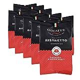 O'CCAFFÈ – Ristretto | Lavazza a Modo Mio kompatible Kaffeekapseln | 100 Stück | Kaffee aus extra langsamer Trommelröstung aus italienischem Familienbetrieb