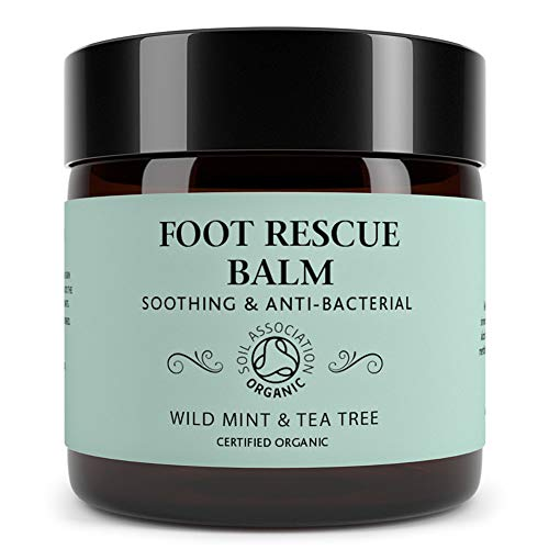 Foot Rescue Balm for Cracked Heels, Very Dry Skin & Athletes Foot Cream...