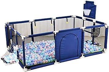 51 BLUE Staccabile Recinto Bambini Outdoor Family cancelletto Bambini 92 25in,Protezione Indoor Outdoor