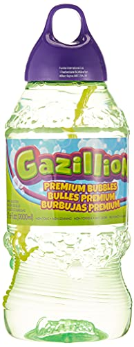Product Image of the Gazillion Bubbles 2 Liter Solution, Green