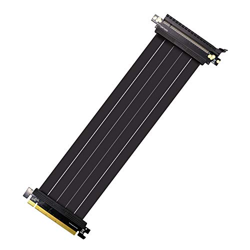 EZDIY-FAB PCI Express PCIe3.0 16 x flexible Kabel Karte Verlängerung Port Adapter High Speed Riser Karte (30 cm)
