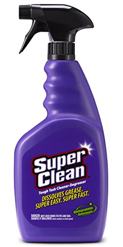 SuperClean Multi-Surface All Purpose Cleaner Degreaser Spray, Biodegradable, Full Concentrate, Scent...