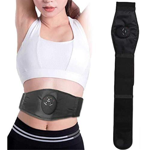 SHHYD Fitnessgürtel, Elektrisch Bauchmassagegerät Mit 6 Modi Und 9-Gang-Einstellung, Abdominal Gewichtsverlust Instrument Für Den Fettabbau