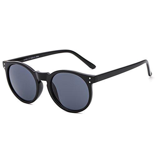 Suertree Redondo Espejo Espejo Gafas de Sol Mujeres Hombres Vendimia Sombras Moda...