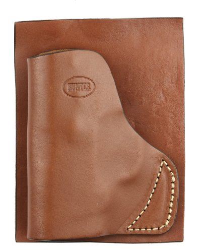 Hunter Company Leather Pocket Holster for Smith & Wesson Bodyguard 380 | Handmade in The USA | Premium Top-Grain Leather