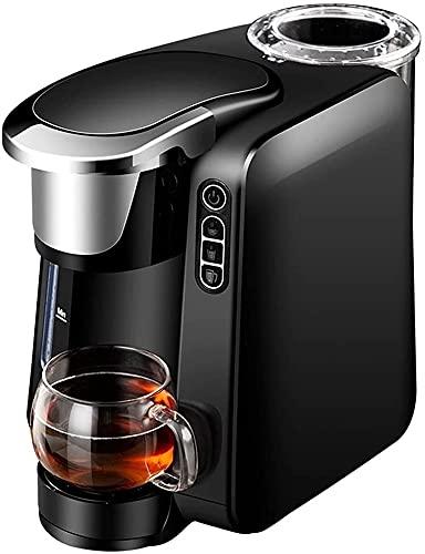 Automatyczna kapsułka ekspres do kawy wielofunkcyjny amerykański ekspres do kawy kawy mleko herbata herbata trzy w jednym (Color : Black)