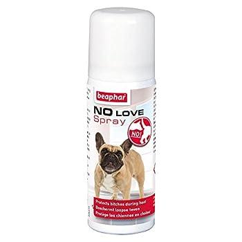 Beaphar - No Love, spray éducateur éloigne mâles pour la période des chaleurs - chien - 50 ml