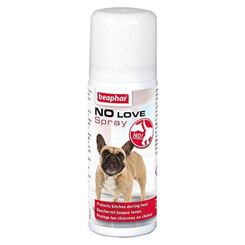 Beaphar – No Love Educator Spray Mantiene a los Hombres lejos de Las Perras en el Calor – Perros – 50 ml ⭐