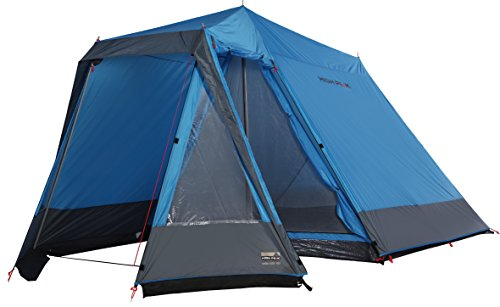 High Peak Zelt Colorado 180, blau/Grau, L