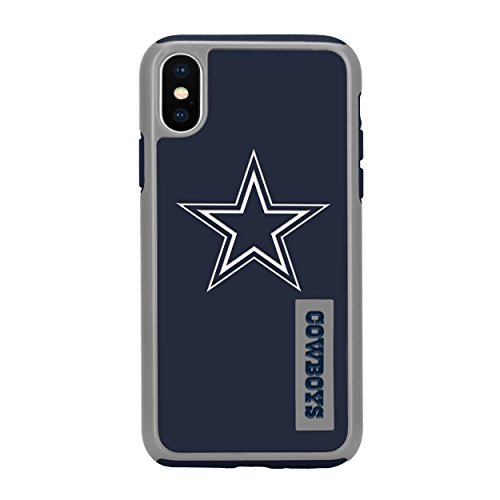 Forever Collectibles iPhone XS/X 5.8' Screen Only Dual Hybrid Impact Licensed Case - NFL Dallas Cowboys
