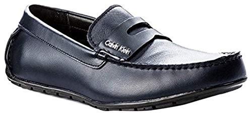Calvin Klein Ivan - Zapatillas negras para hombre Azul Size: 42 EU