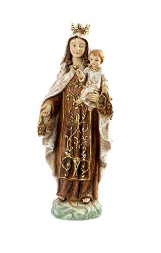 DRW Virgen del Carmen 21 cm Figura Resina con Caja Regalo
