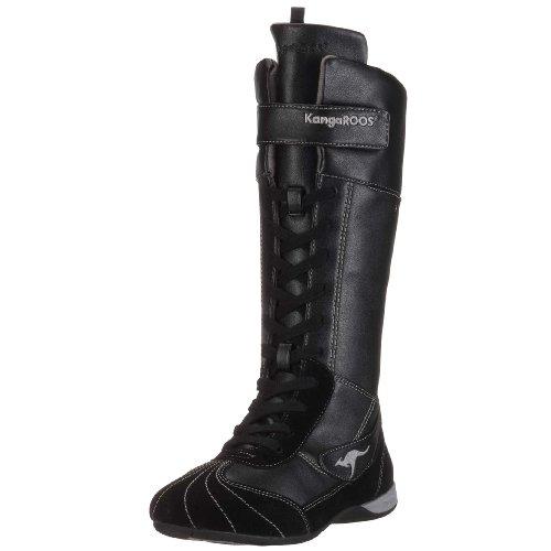 KangaROOS Gadget 10503 Bottes pour Fille - Noir - Noir Black Crystal505, 34 EU