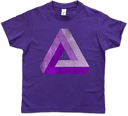 Urban Backwoods Penrose Logo Sign V Jungen Kinder Kids T-Shirt Violett Größe 10 Jahre