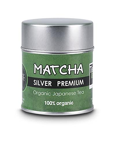 Eguia te matcha, lata de 30 g de polvo japonés puro 100% & primera calidad te matcha slim adelgazante | te verde matcha detox, color intenso & aroma natural