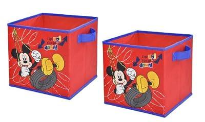 Disney Storage Cubes, Set of 2, 10-Inch