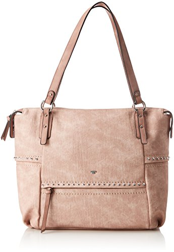 TOM TAILOR Acc Damen Kendall Tote, Rot (Rose), 11x31x42 cm