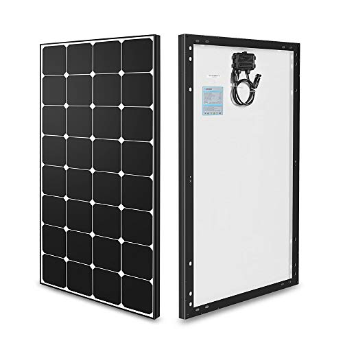 Renogy 100 Watt 12 Volt Eclipse Monocrystalline Solar Panel High Efficiency Module Off Grid PV Power
