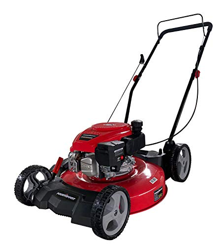 "PowerSmart DB8621CR 21"" 2-in-1 170cc Gas Push Lawn Mower"