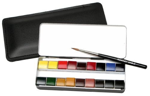 Daler Rowney Artists Watercolour : Set :18 x 1/4 pan Miniature set [Toy]