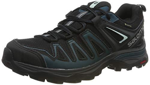 Salomon X Ultra 3 Prime GTX W, Zapatillas de Senderismo para Mujer, Negro/Azul...