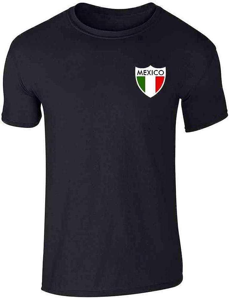 Mexico Futbol Soccer Retro National T- Football Tee Popular brand in the world Dedication Team Graphic