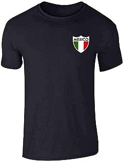 Mexico Futbol Soccer Retro National Team Football Graphic Tee T-Shirt for Men