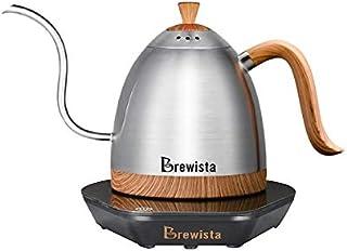0.6L Brewista Artisan可変温度デジタルケトル220V AU/UKプラグスマートグースネックケトルプルオーバーハンドブリュードコーヒーポット