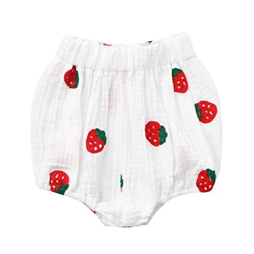 Julhold Zomer Baby Jongens Meisjes Fruit Aardbei Print PP Broek Shorts Bottoms Kleding Zomer 2019 Geweldig voor een Reis