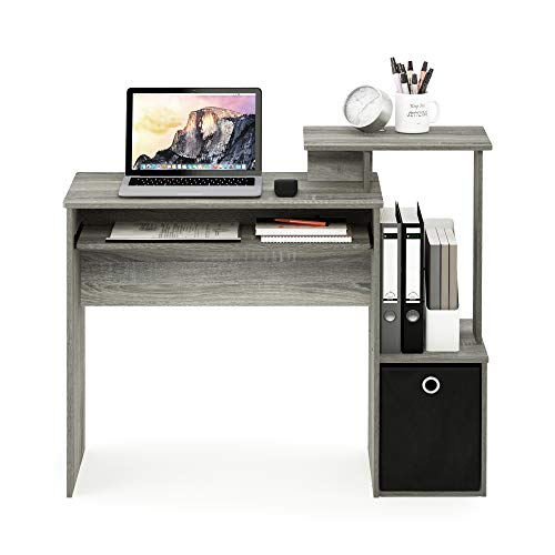 FURINNO Econ Multipurpose Home Office Computer Writing Desk, French...