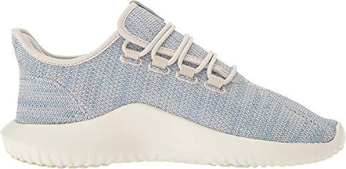 adidas Originals Herren Tubular Shadow Ck Fashion Sneakers, Transparentes Braun/taktile Blau/Kreideweiß, 44 EU