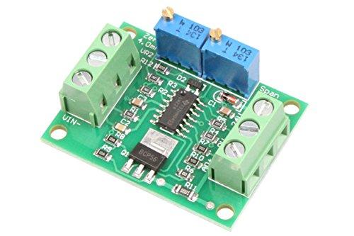 NOYITO Voltage to Current Module 0-2.5V 3.3V 5V 10V 15V 24V Voltage to 0-20mA 4-20MA Current Signal Generator Moudle (0-24V to 0-20mA)