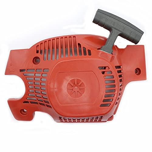 LIBEI Recoil Rewind Pull Start Starter Assy Fit Husqvarna 137 137E 142 142E Motosierra Reemplazar Parte # 530071968, 530 07 19-68