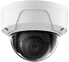 4K PoE Security IP Camera-Compatible with Hikvision DS-2CD2183G0-I UltraHD 8MP Dome Onvif IR Night Vision Weatherproof Wide Angle 2.8mmLens SD Card Best for Home and Business Security 3 Year Warranty