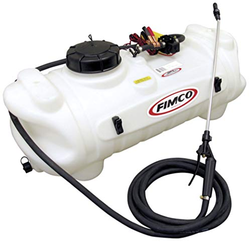 Fimco 5275086 High Flo 12 Volt Diaphragm Sprayer Pump 35 PSI Max 1.0 GPM 4 Amps Demand Switch Roundup Ready No Flammable Or Combustible Fluids with Internal Fan Cools Pump Up To 50% During Operations