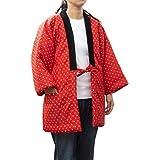 久留米手づくりはんてん婦人用・日本製・中わた綿入り(56)