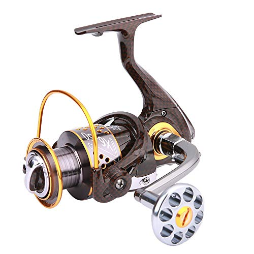 QHFISHER Fishing Reel 12BB+1 1000-7000 Metalen spoel Spinning Reel Karper aas Boot Rock Zee Spinning Tackle Casting Line Reels Visserijuitrusting Fisher Kit